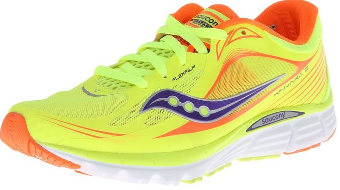 Saucony Kinvara 5 great for pain in heel