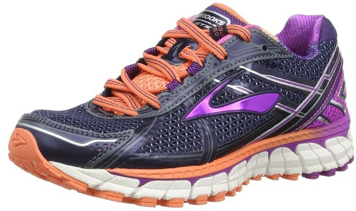 brooks adrenaline womans anti heel pain shoe