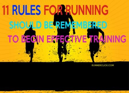 11 Rules for running should be remembered to begin effective training