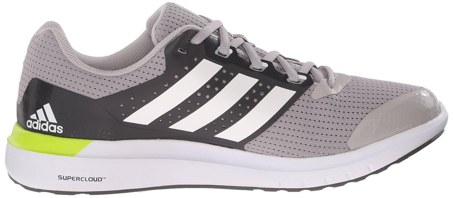 Adiprene+ technology in the Adidas Duramo 7's midsole helps them to be highly responsive.