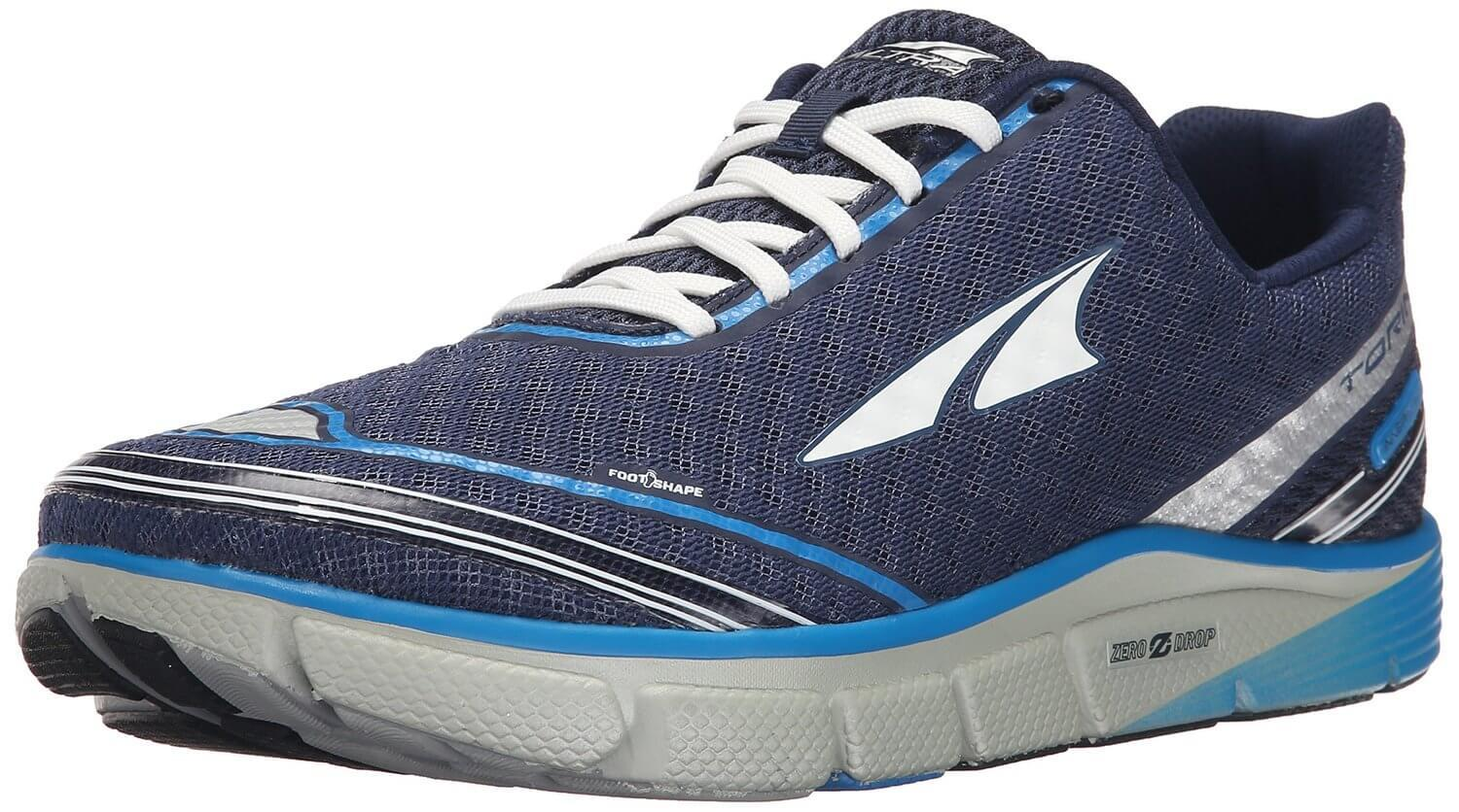 the Altra Torin 2.0 is a durable zero drop trainer ready to hit the road for many miles