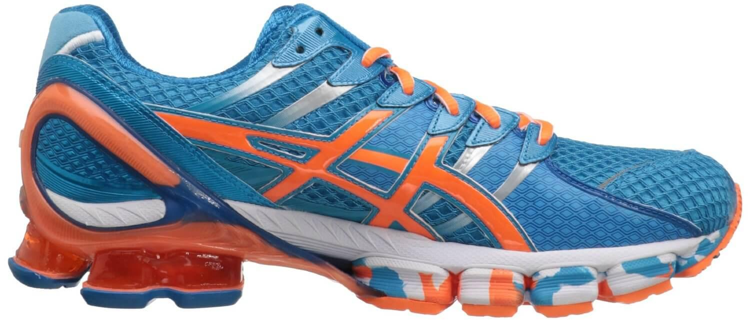 the ASICS Gel Kinsei 4 has a relatively low profile for better freedom of movement