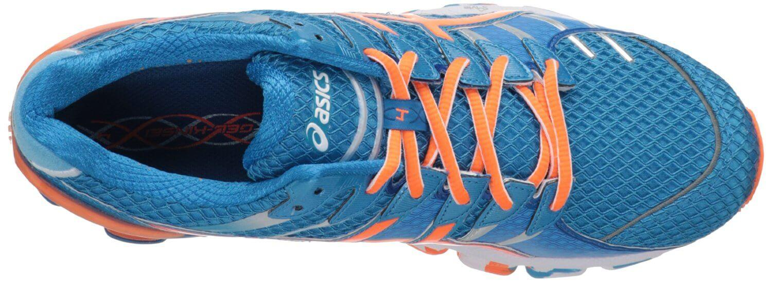 the upper of the ASICS Gel Kinsei 4 has a highly breathable upper