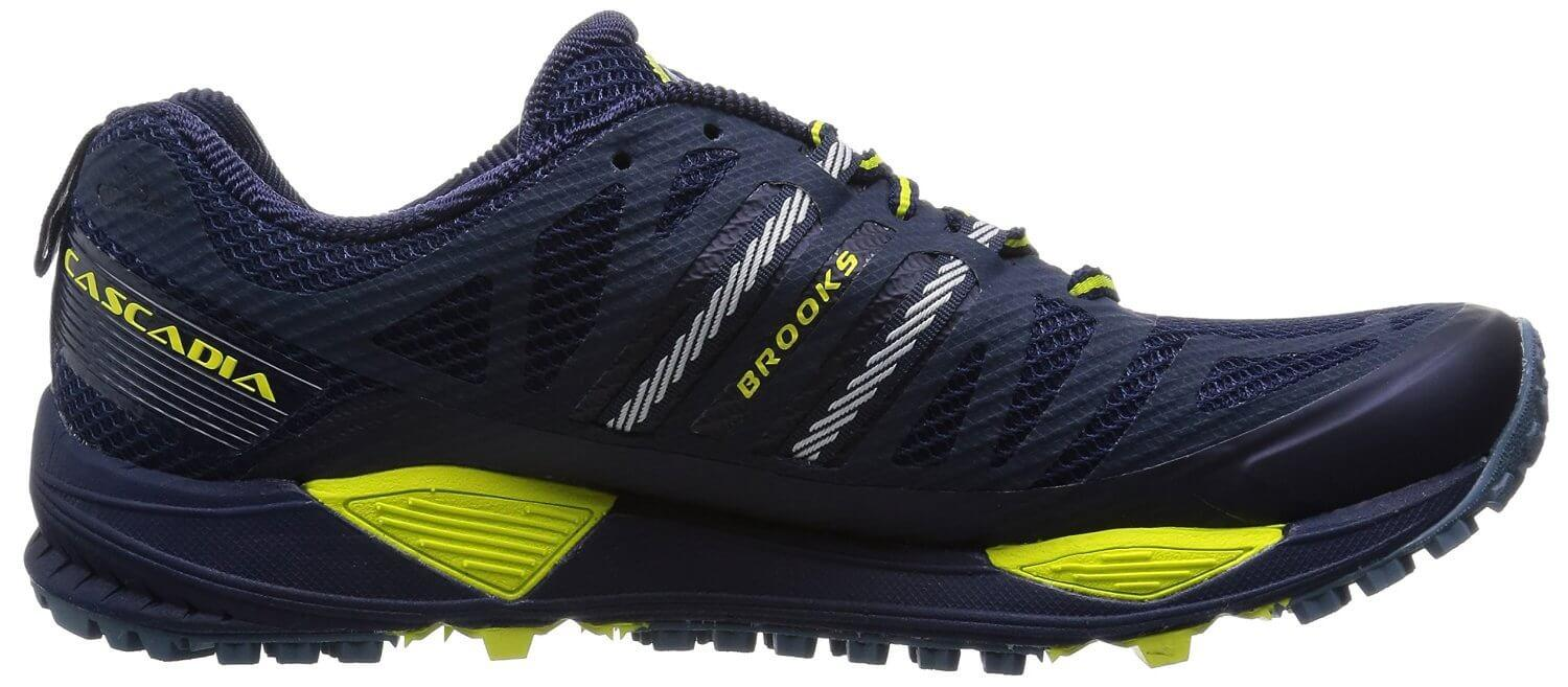 the Brooks Cascadia 10 is an affordable trail running shoe that performs great on off-road surfaces