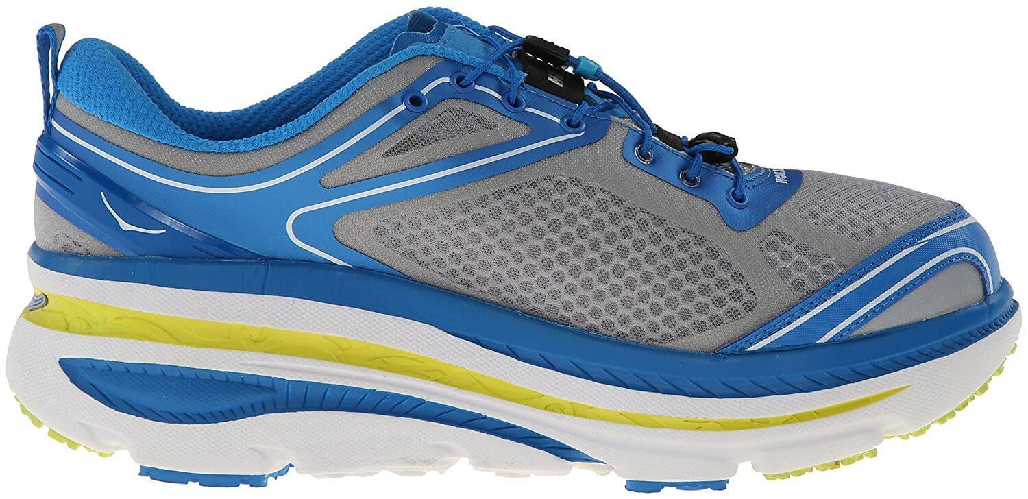 the Hoka One One Bondi 3 has a high stack that may require a period of adjustment