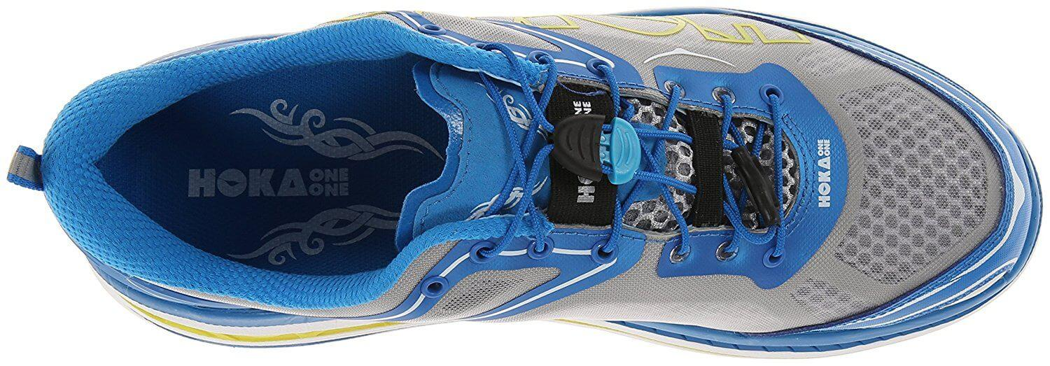 the upper of the Hoka One One Bondi 3 is comfortable and offers great ventilation