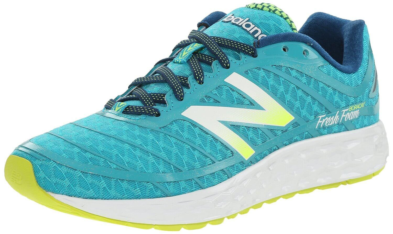 The New Balance Fresh Foam Boracay 980v2 is a great shoe for runners with wider feet.