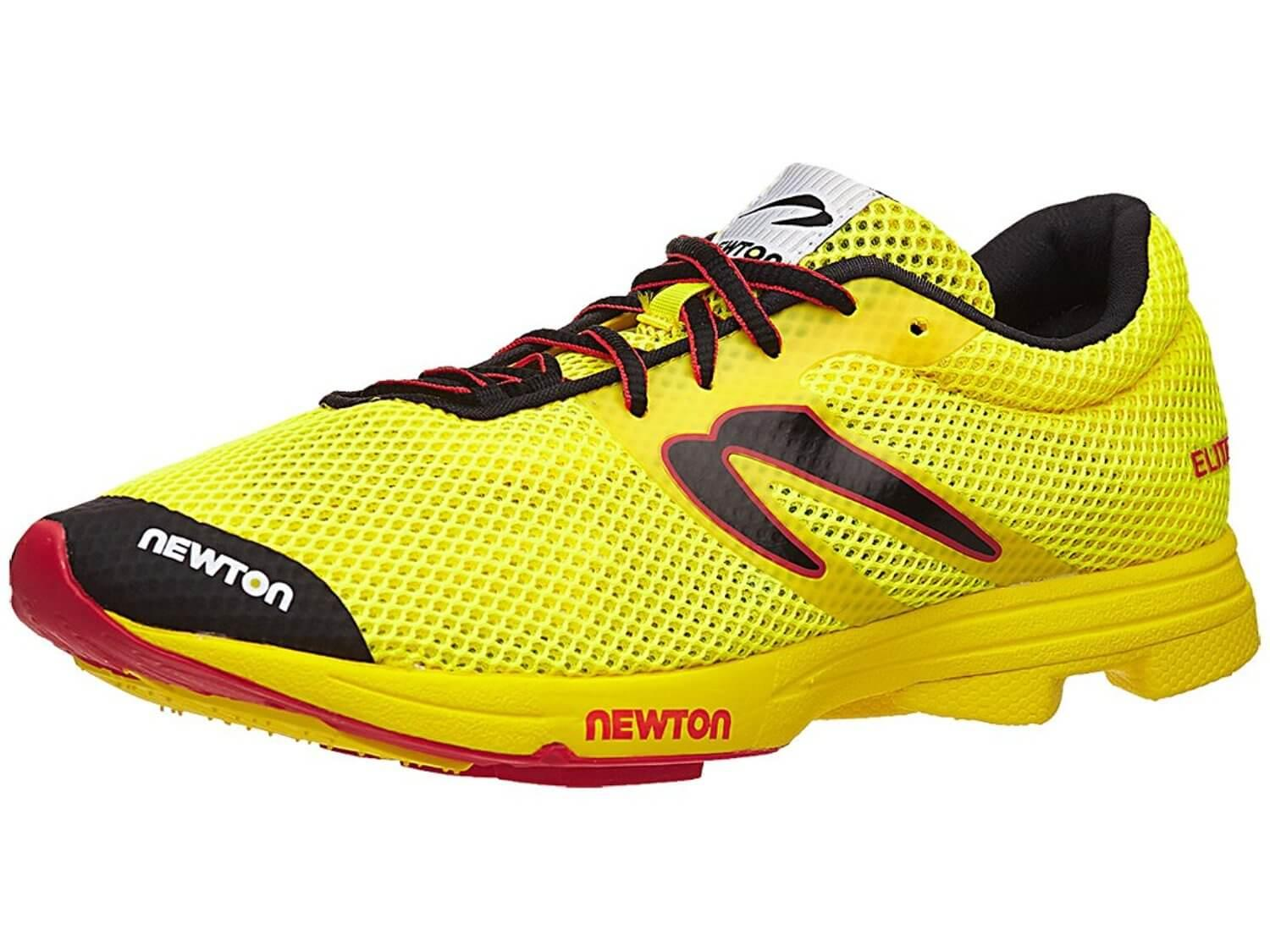 the Newton Distance Elite is a high-performance trainer for runners serious about competitive racing