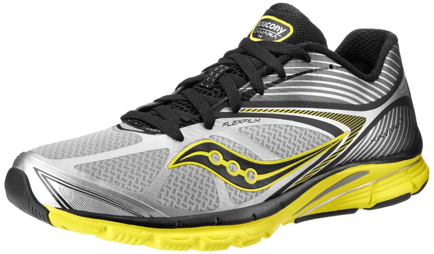 the Saucony Kinvara 4 is a comfortable, lightweight running shoe that is  durable and aesthetically ...