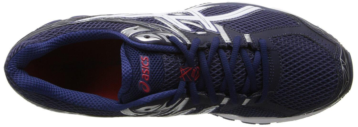 An internal heel cover in the Asics GT-1000 3's upper provides extra stability.