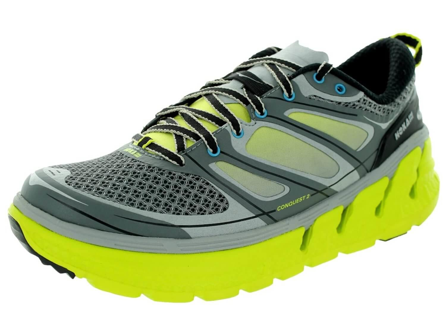 the Hoka One One Conquest 2 shown from the front/side