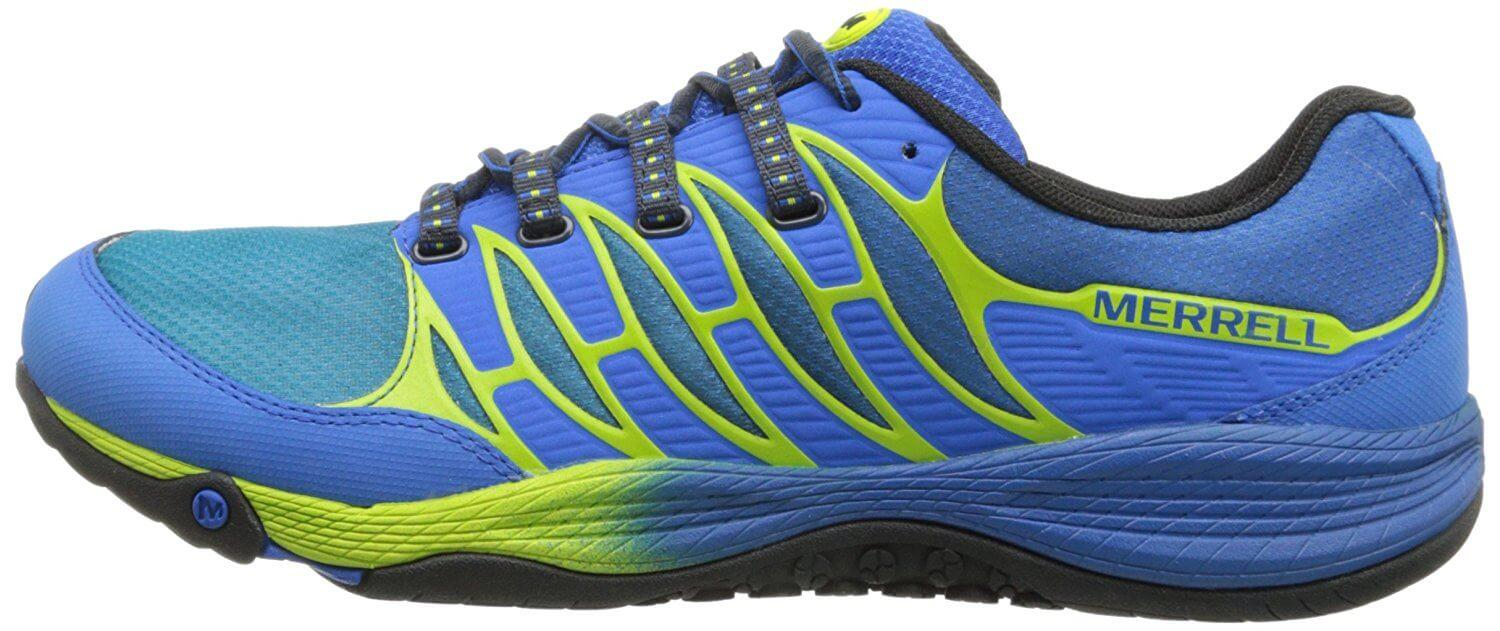 the Merrell AllOut Fuse is made of high-quality materials and is resistant to wear and tear