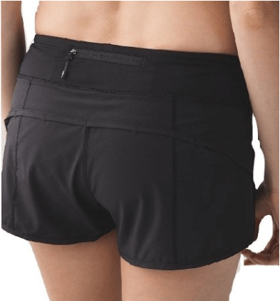 Pace Breaker Short These shorts feature a Mesh fabric vent on the back for airflow and a side zipper pocket. Available in multiple lengths, with or without a liner.