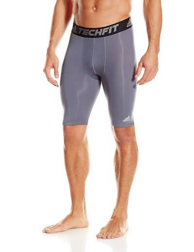 8. Adidas Men's Training Techfit Base Short Tights