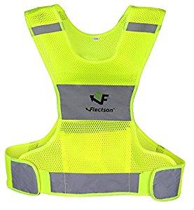 Reflective Vest for Running with pocket