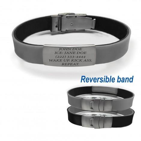 Reversible Safety ID Bracelet