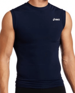 ASICS Men's Compression Sleeveless Running Shirt