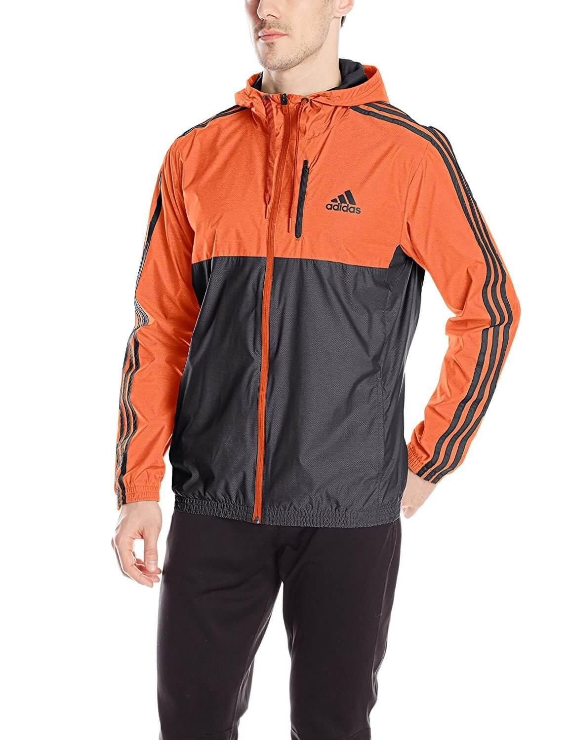 2. Adidas Men's Essential Woven Jacket