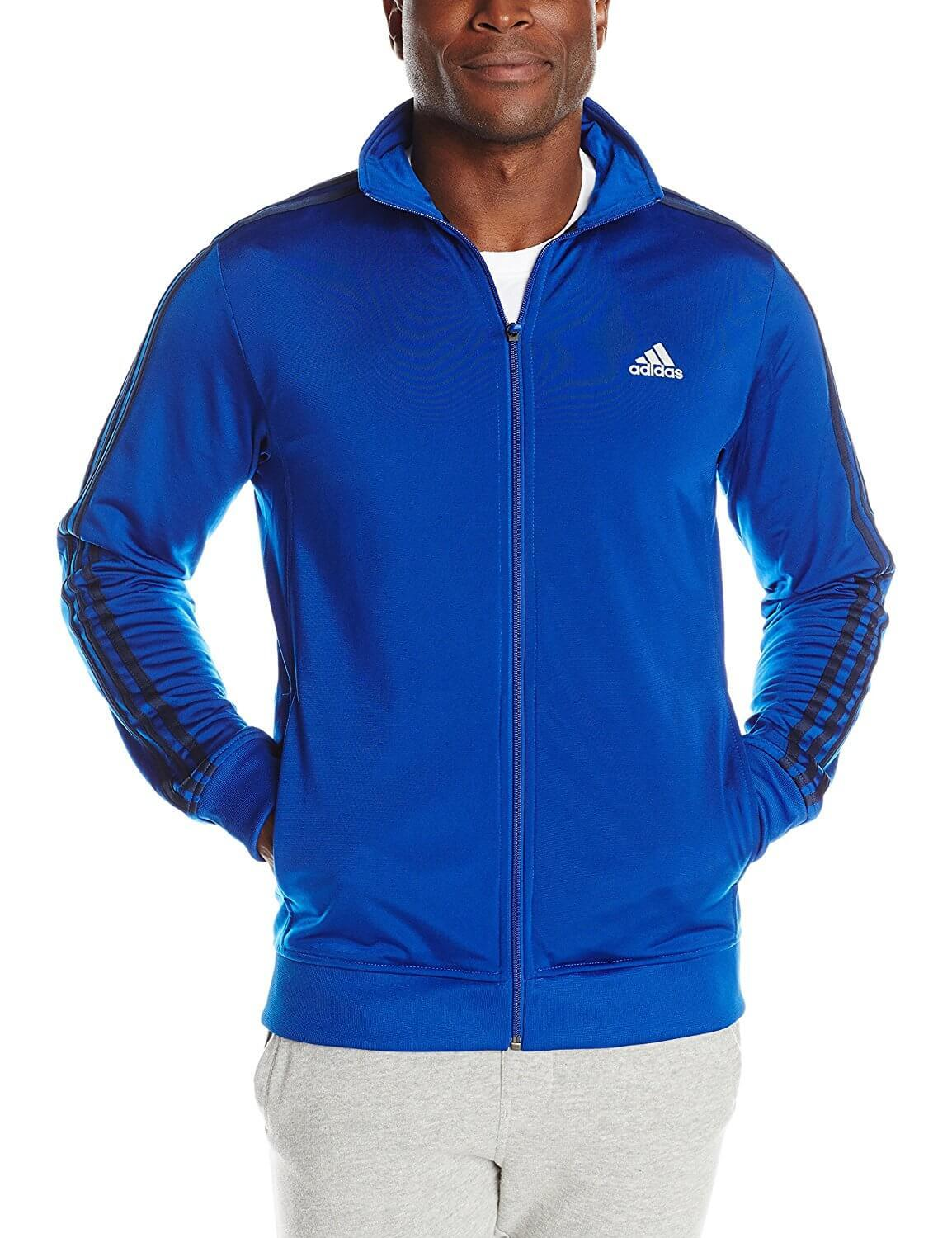 1. Adidas Men's Essential Tricot Jacket