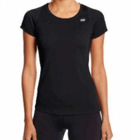 2. New Balance Women's Accelerate Short Sleeve Shirt