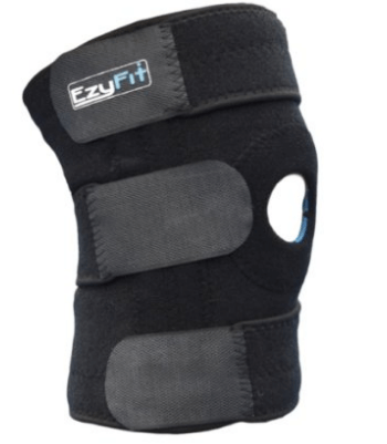 EzyFit Knee Brace Support Dual Stabilizers & Open Patella