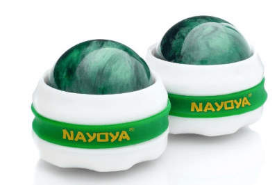 Massage Ball Roller 2 Piece Deluxe Set for Massage Therapy