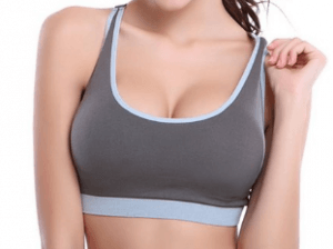 3. Encounter High Impact Stretch Racerback Sports Bra