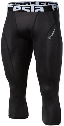 TESLA Men's Cool Dry Compression Base Layer