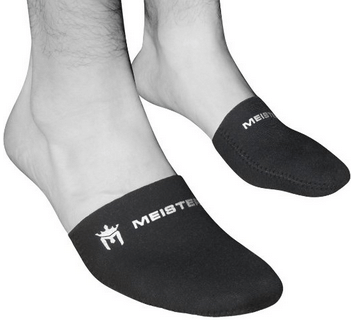 2. Meister 2.5mm Thermal Neoprene Toe Warmer Booties