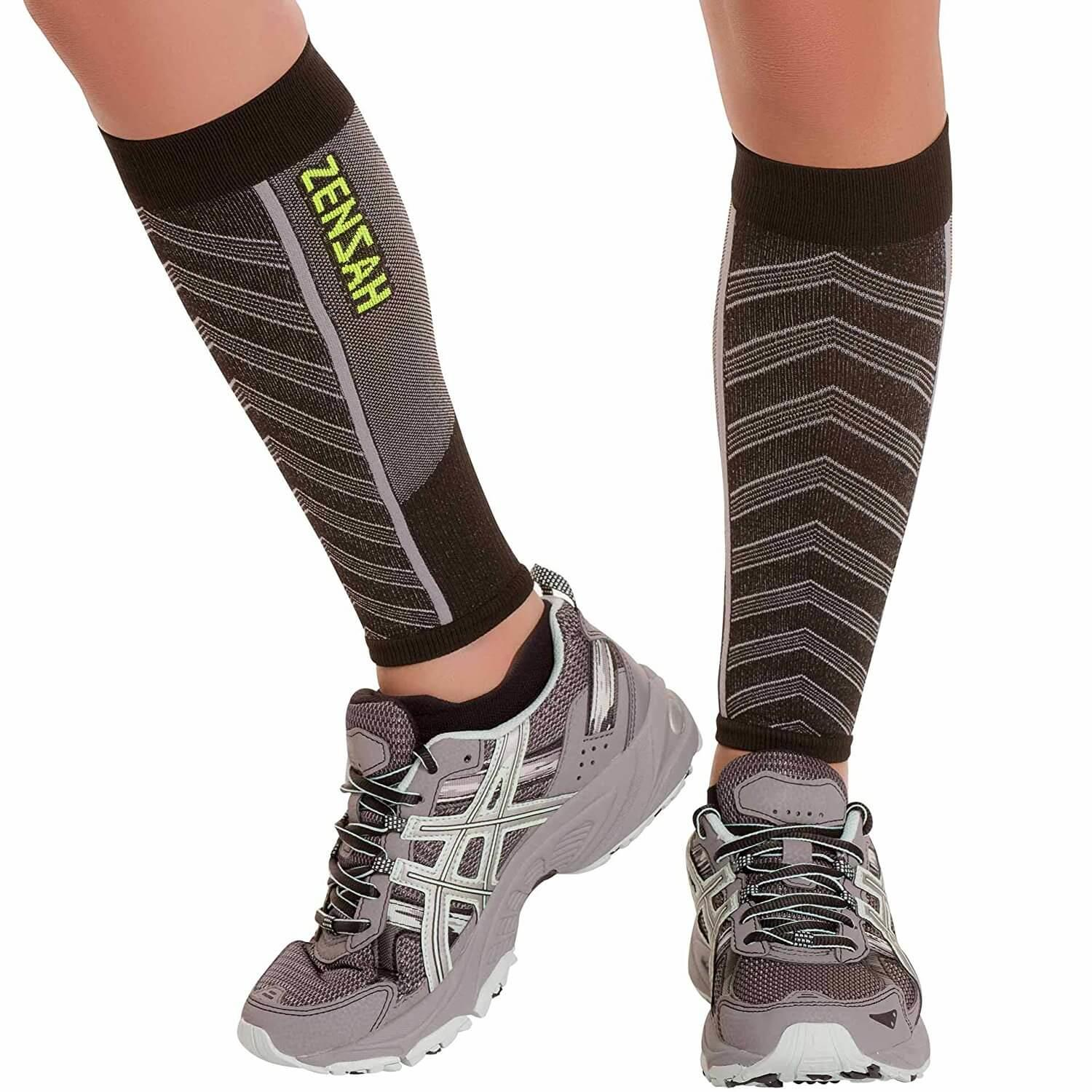 2. Zensah Featherweight Compression Leg Sleeves