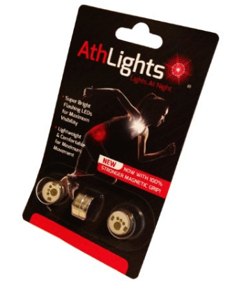 9. Athlights Magnetic Flashing Safety Lights for Running