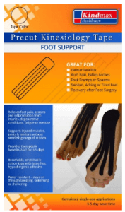 Kindmax Precut Foot Support