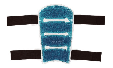 TheraPearl Shin Wraps, Reusable Hot Cold Therapy