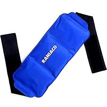 Raniaco Gel Ice Pack,Hot Cold Therapy Wrap