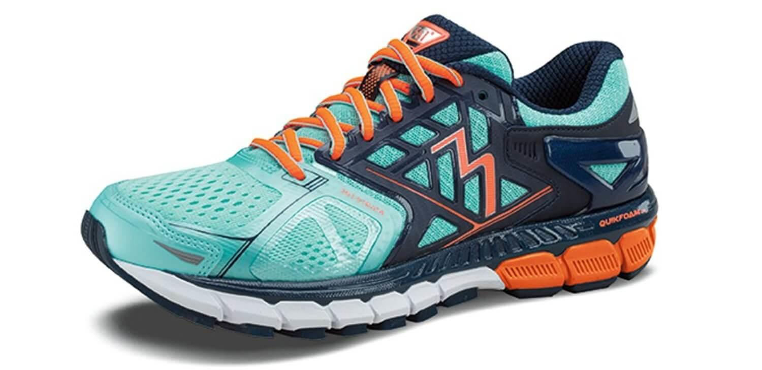 the 361 Degrees Strata is a lightweight stability shoe that has extra support for runners with pronation issues