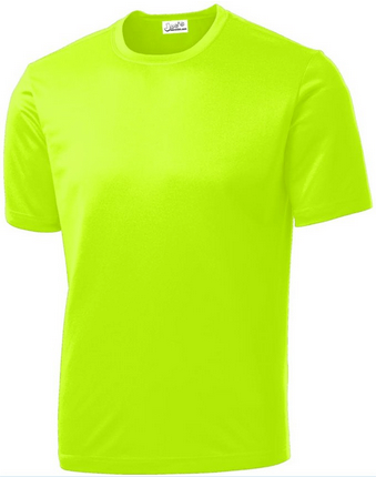 Joe's USA - All Sport Neon Color High Visibility Athletic T-Shirt