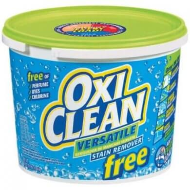 2. OxiClean Versatile Stain Remover