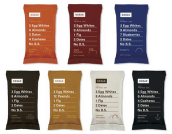 RxBar Real Food Protein Bars Variety Pack