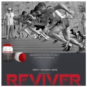 6. Reviver Advanced Electrolyte Salt & Vitamin Formula