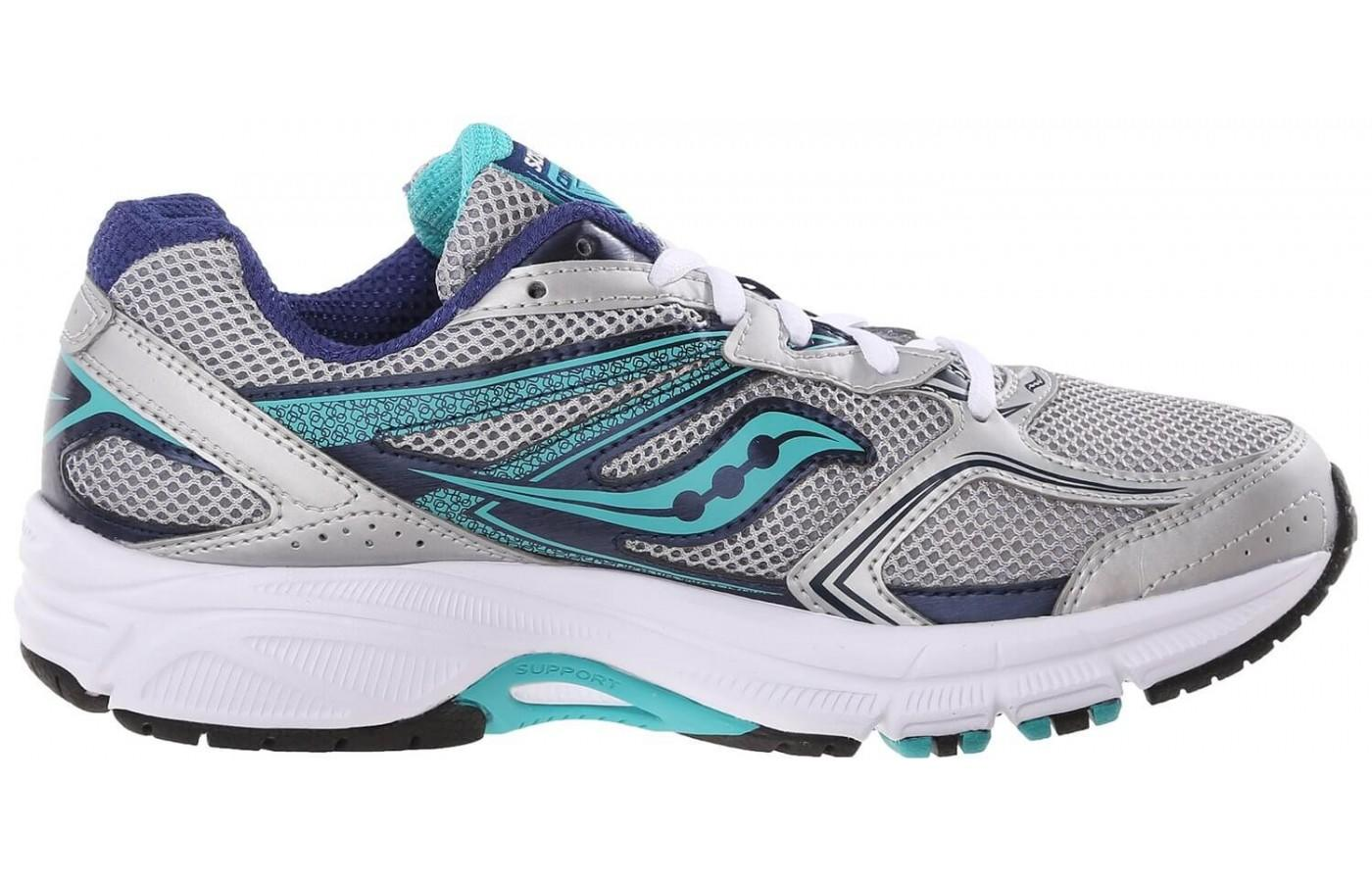 sideview of our review of the Saucony Cohesion 9