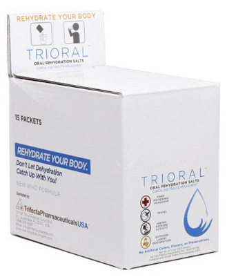 TRIORAL – Oral Rehydration Salts