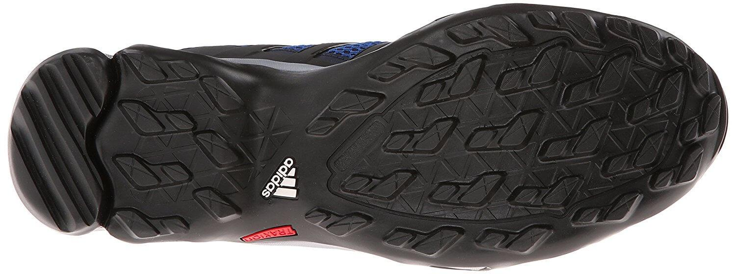 Traxion rubber was used for the Adidas Terrex Swift R GTX's durable outsole.