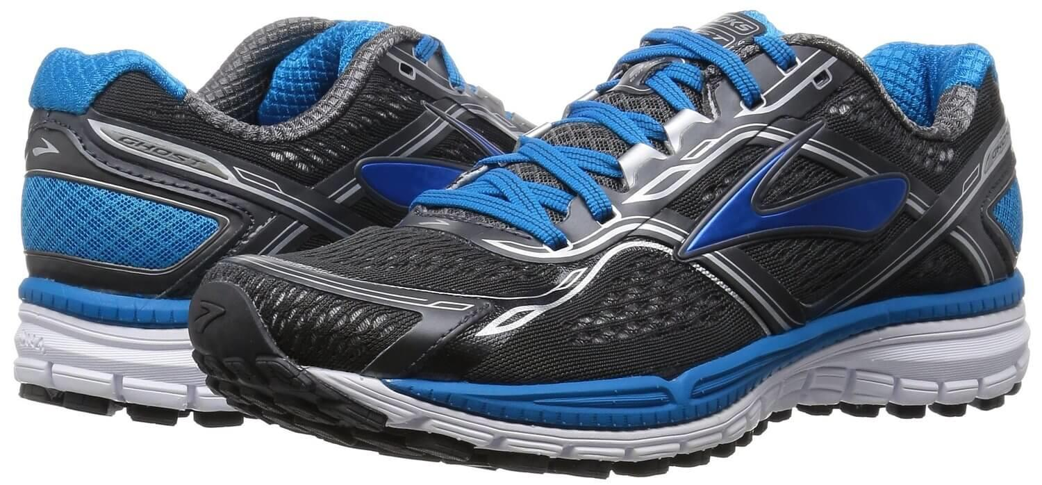 The style of the Brooks Ghost 8 is passable but nothing especially noteworthy.