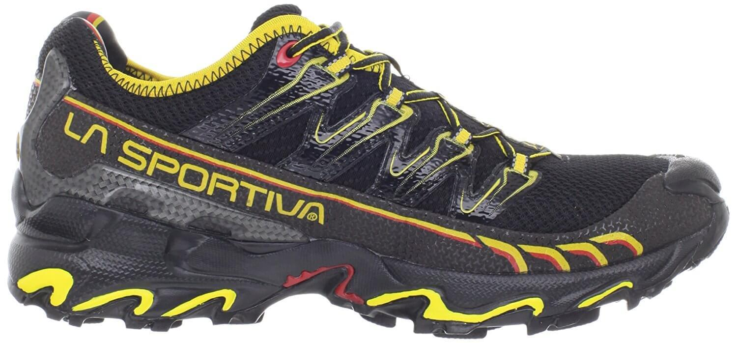 a good look at the side of the La Sportiva Ultra Raptor