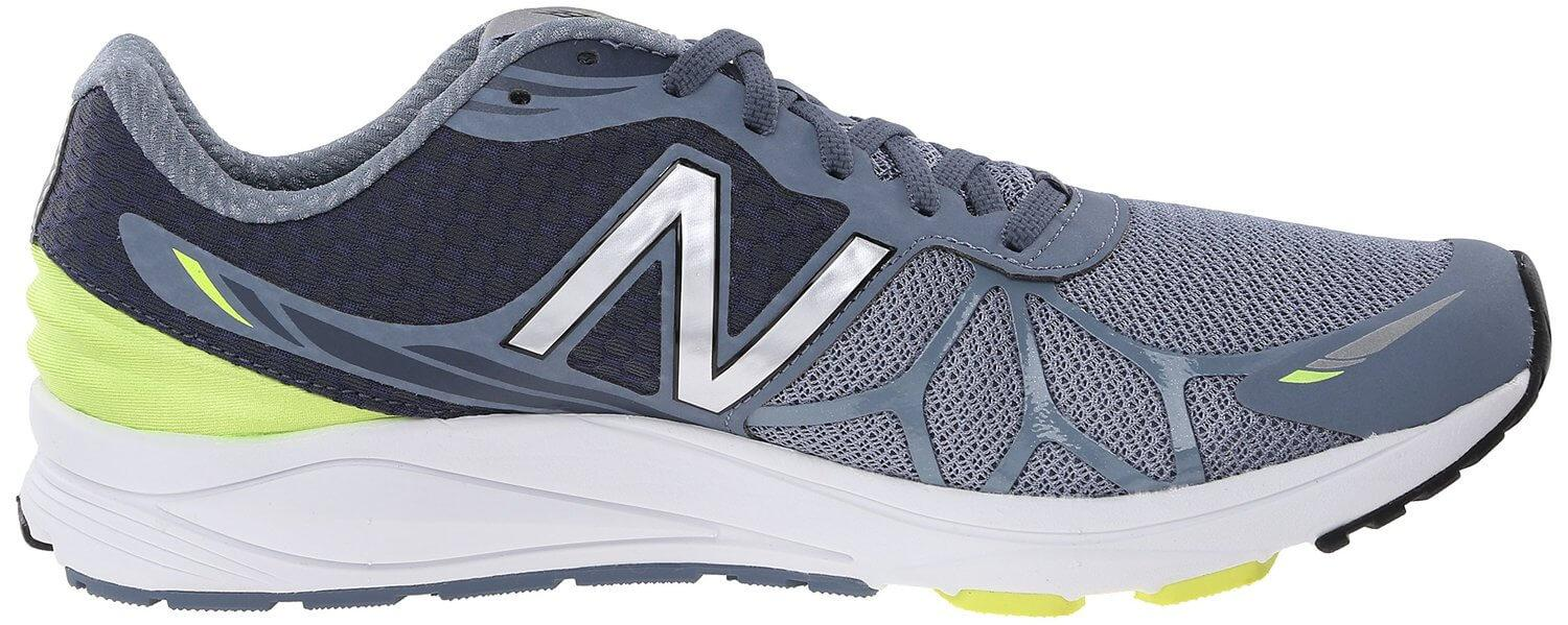 the low profile of the New Balance Vazee Pace allows for freedom of movement during a run