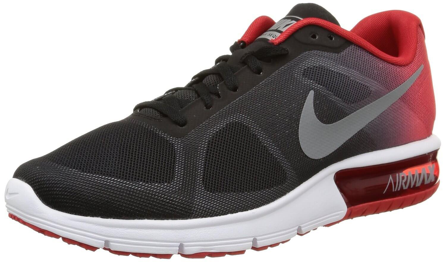 Cheap Nike air max 87 back and red white Cheap Nike air max 87 black and red
