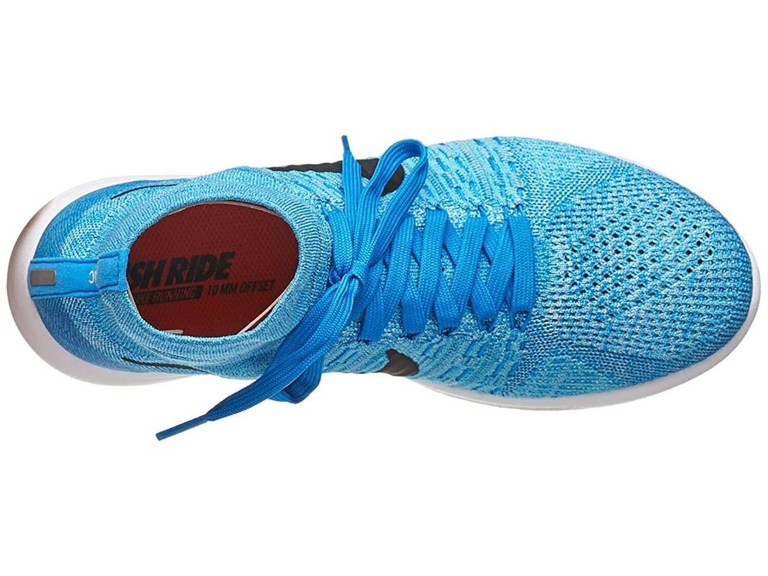 The upper portion of the Nike LunarEpic Flyknit can be ordered with a low cut or mid cut.