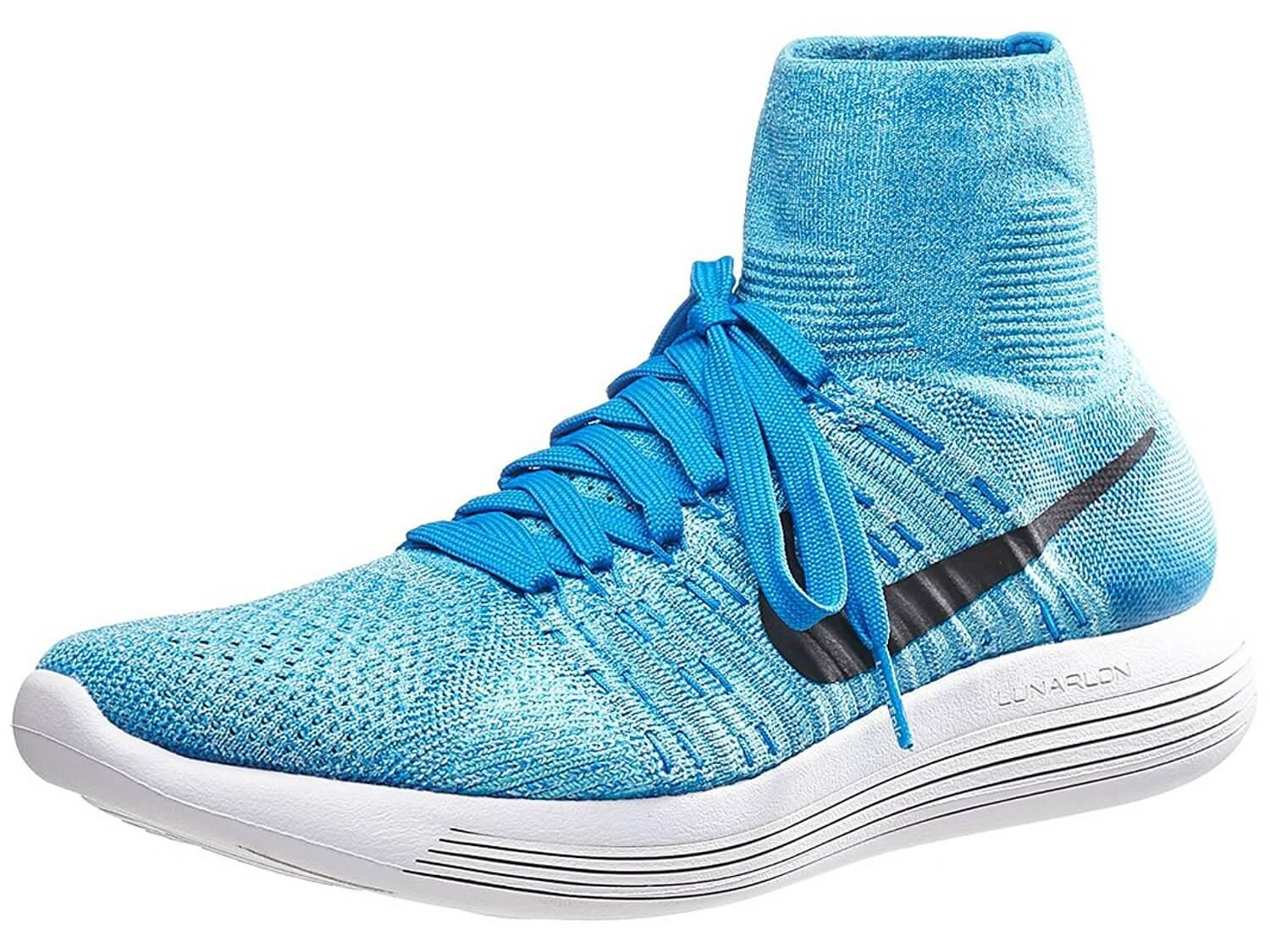 low priced a4dc2 0c53f nike lunarepic flyknit blue