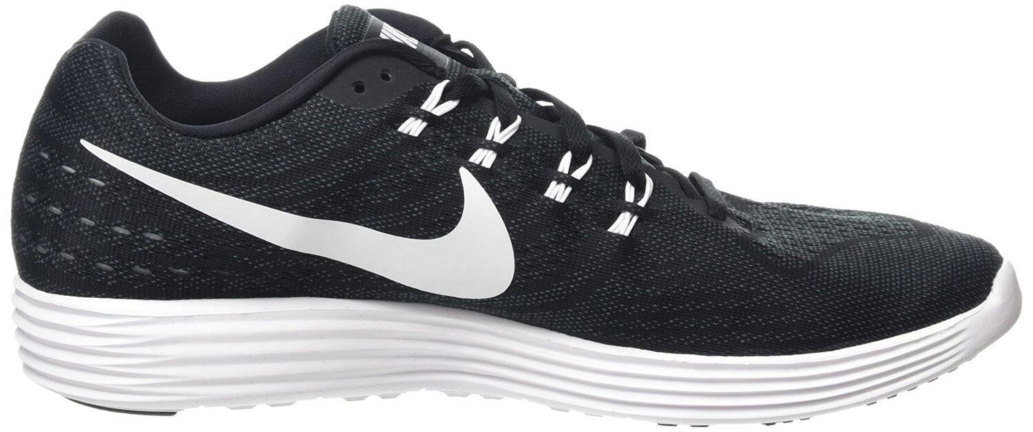 The midsole and outsole have been combined on the Nike LunarTempo 2.