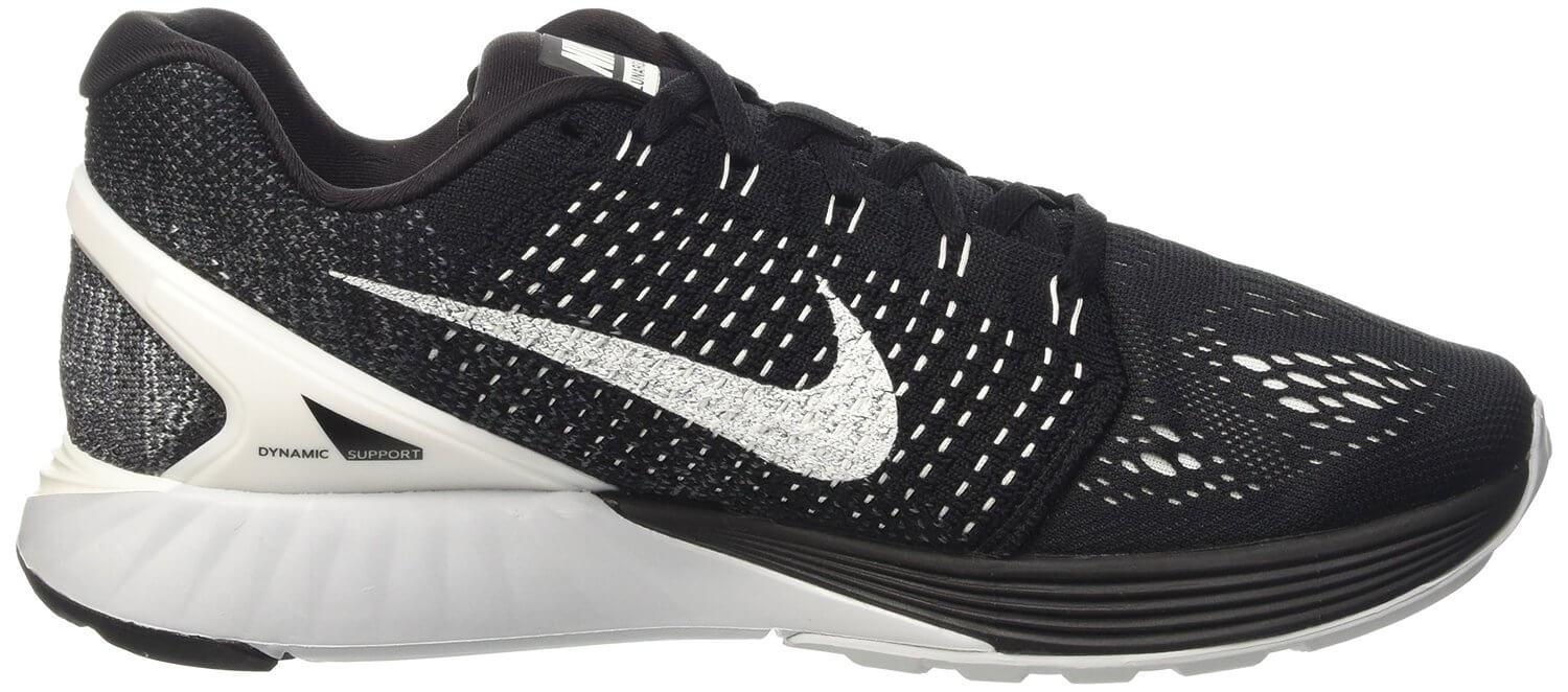 hot sales 0380d 71c4d ... image Nike LunarGlide 7. See more Pics at. Amazon.com Nike Womens Lunarglide  7 Flash Running Trainers 803657 Sneakers Shoes (us 6, black ...